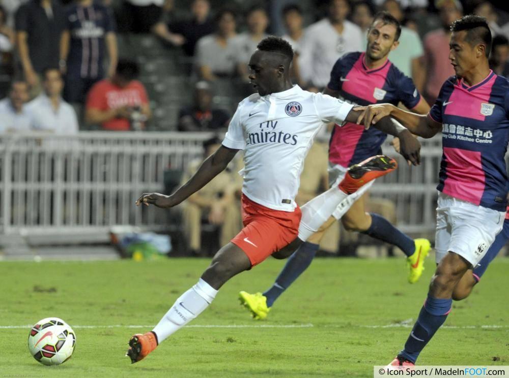 Jean-Kevin Augustin avait participé à la préparation estivale du PSG.