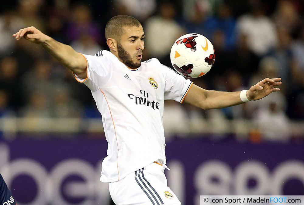 Benzema enchaîne les buts au Real Madrid