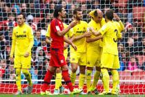 Joie Bruno Soriano / Deception Milan Bisevac - 26.07.2015 - Villarreal / Lyon - Emirates Cup