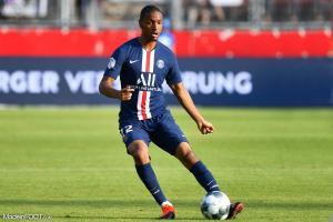Le défenseur français est heureux de ce premier succès face à Rennes