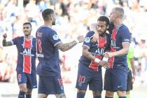 Le groupe du PSG (Neymar, Bakker, Icardi)