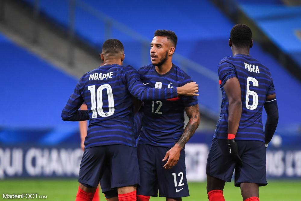 Mbappé avec la France