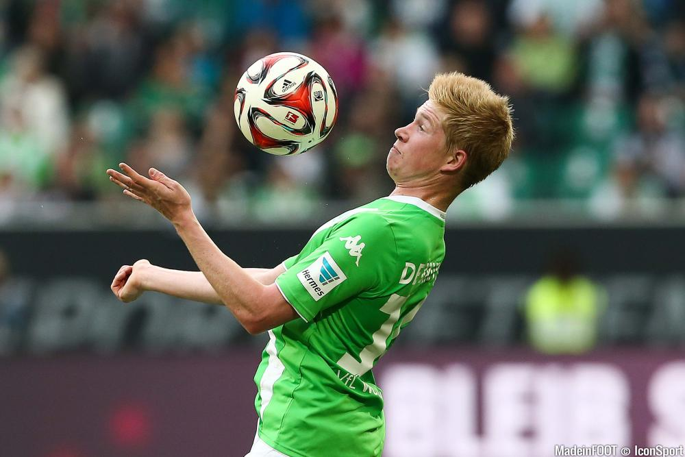 Kevin de Bruyne est autorisé à quitter Wolfsburg.