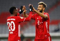 Bouna Sarr et Eric Maxim Choupo-Moting (Bayern Munich)
