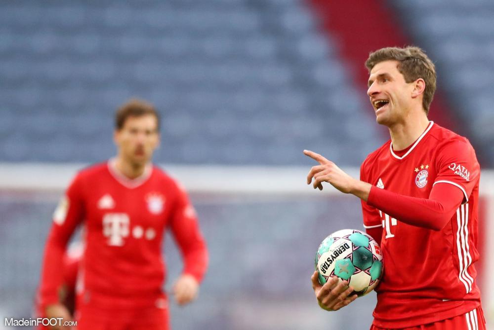 Le Bayern Munich a été accroché par l'Union Berlin (1-1), ce samedi après-midi en Bundesliga.