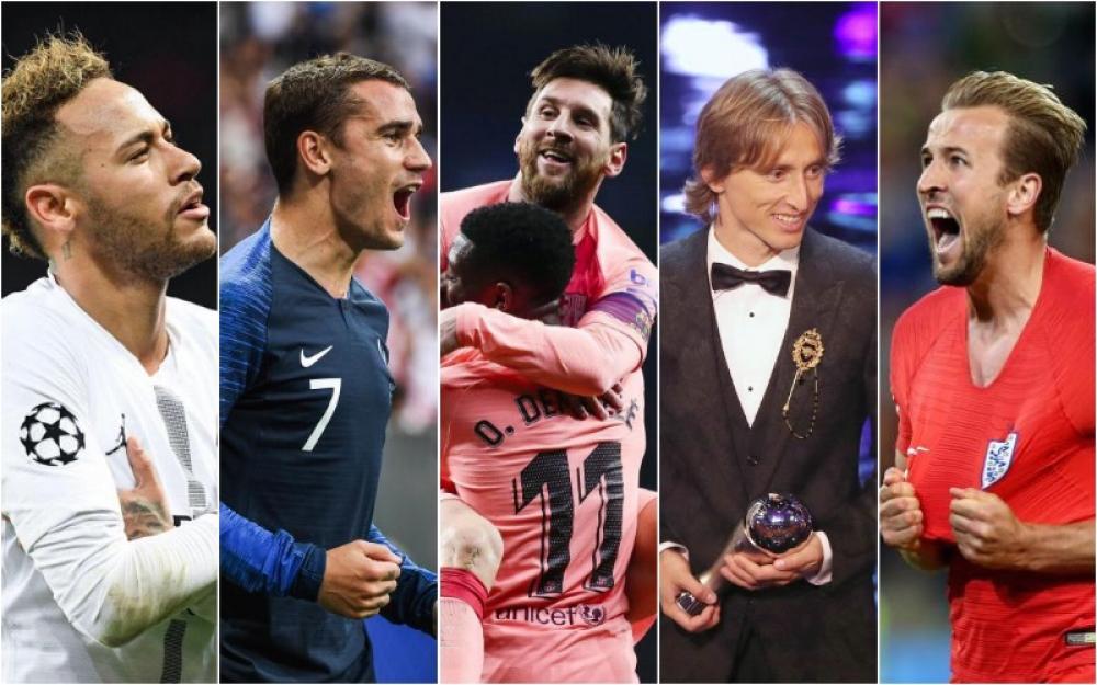 Vous avez élu Lionel Messi (FC Barcelone) comme joueur de l'année 2018.