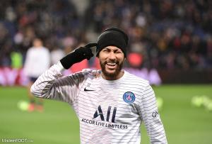 La réaction de Neymar après la qualification du PSG en 1/2 finale de la LDC