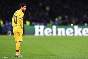 Messi avec Barcelone