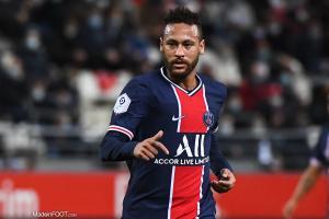 Neymar a inscrit un superbe but face à Basaksehir