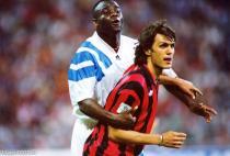 Boli (OM) et Maldini (Milan)