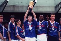 Equipe de France 98, Zinédine Zidane, Laurent Blanc, Marcel Dessailly