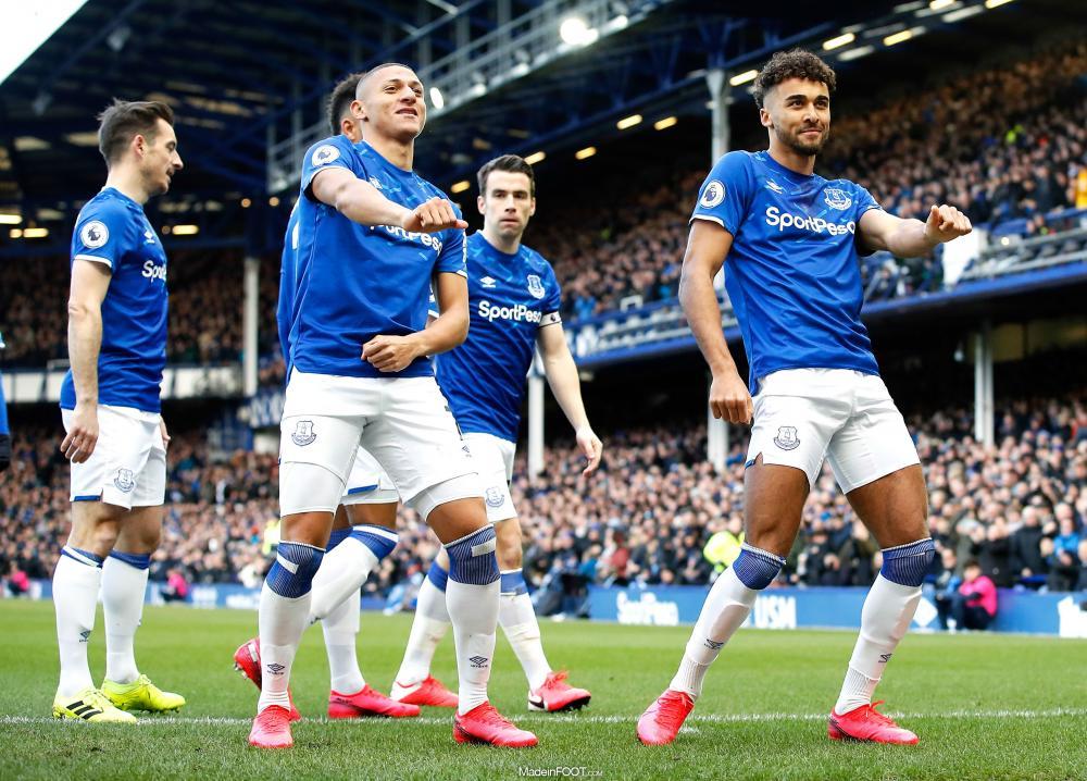 Richarlison avec Everton