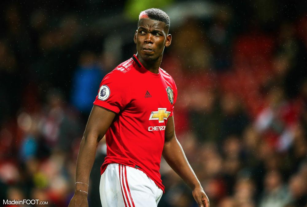 Paul Pogba avec Manchester United