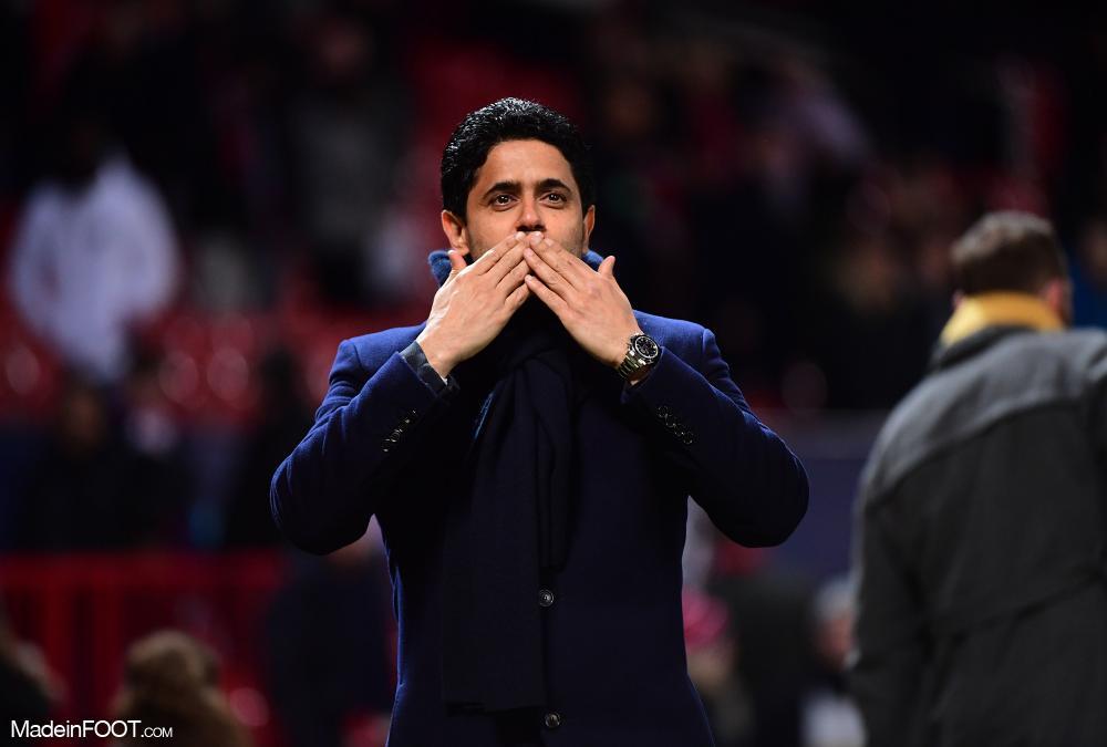 Nasser Al-Khelaïfi, le président du Paris Saint-Germain.