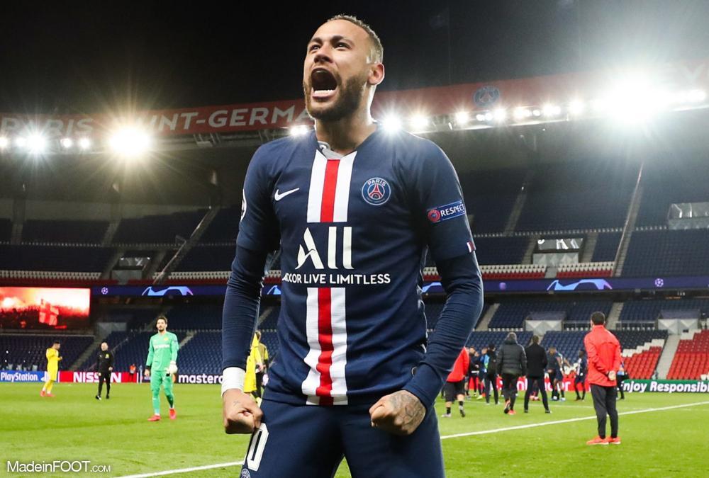 Neymar veut gagner la Ligue des Champions avec Paris.