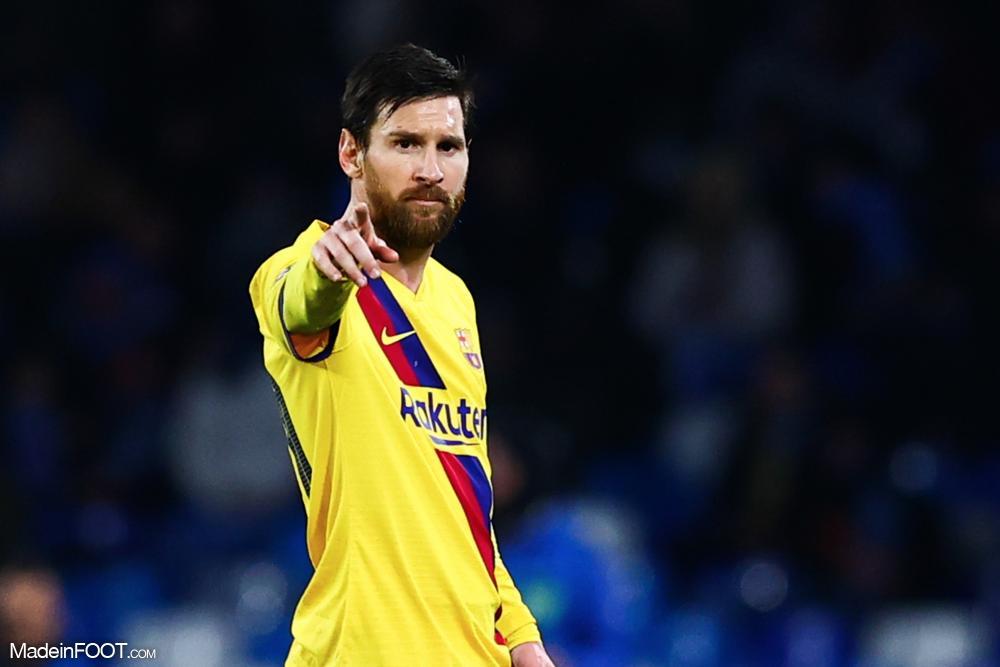 Messi avec le Barça