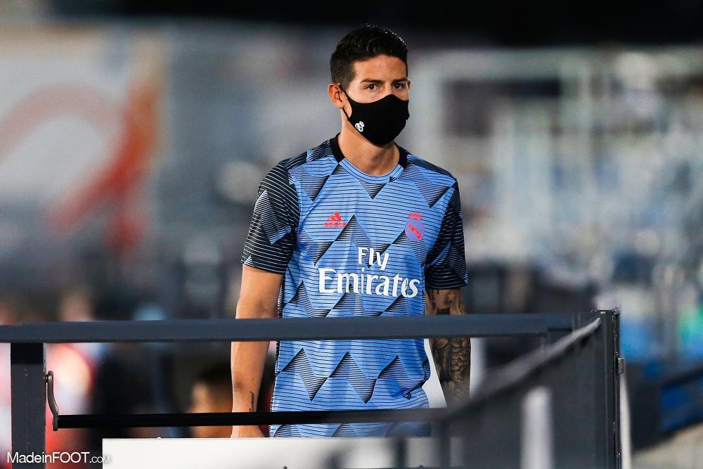 Le PSG pourrait récupéré James Rodriguez assez facilement