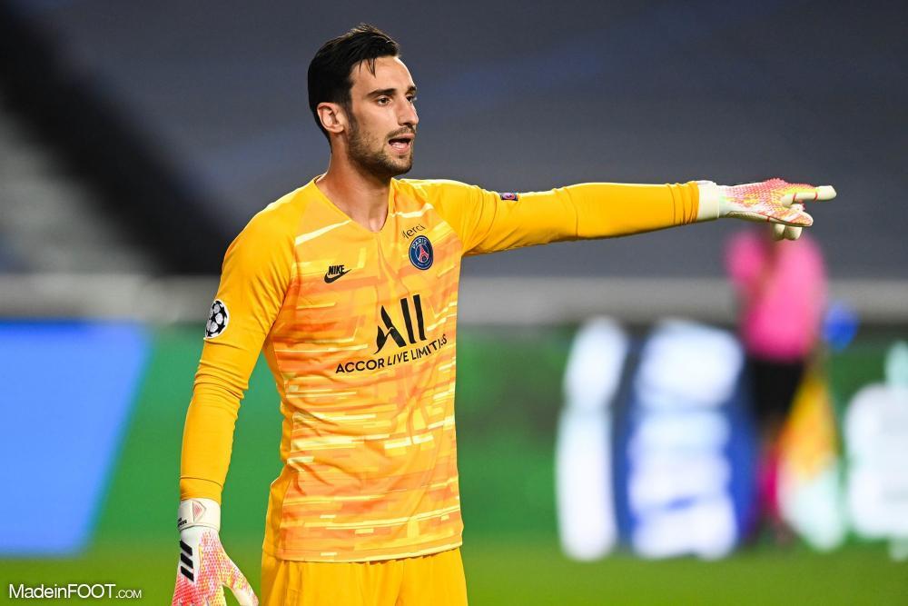 Sergio Rico, avec le PSG.