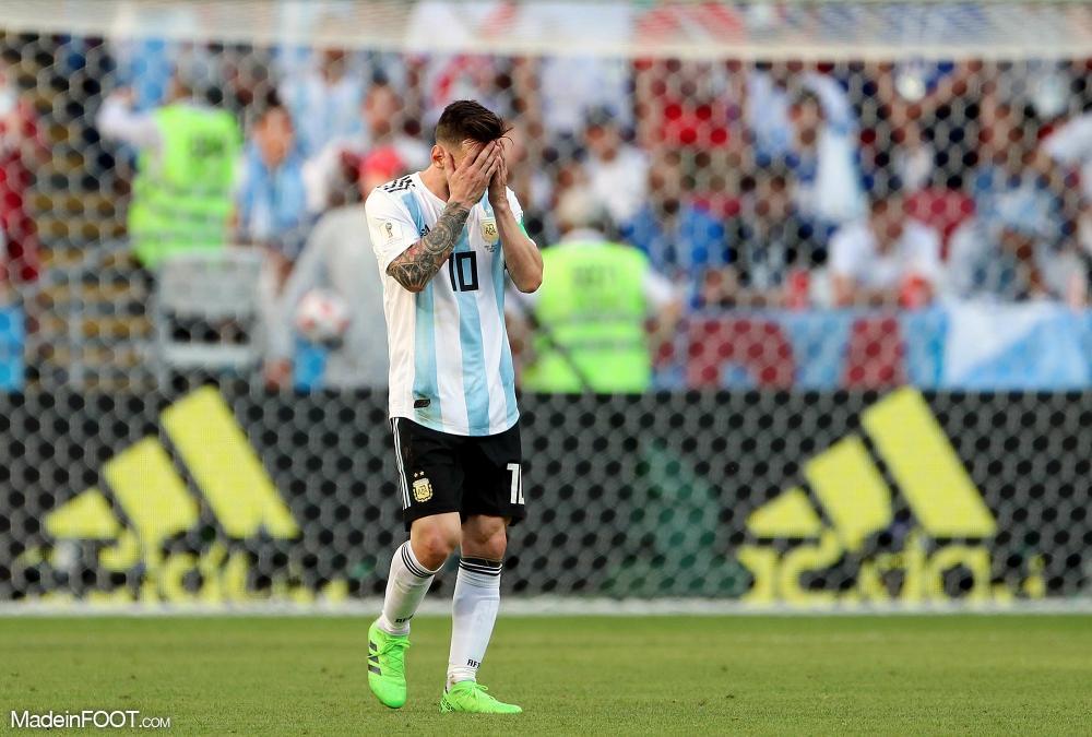 Leo Messi a été victime d'un gros tacle face au Venezuela
