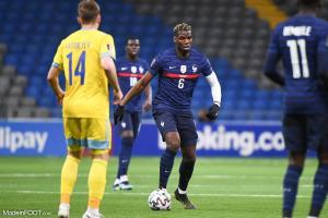 Paul Pogba en équipe de France