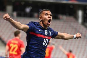 Kylian Mbappé s'apprête à disputer l'Euro 2020 avec l'Équipe de France