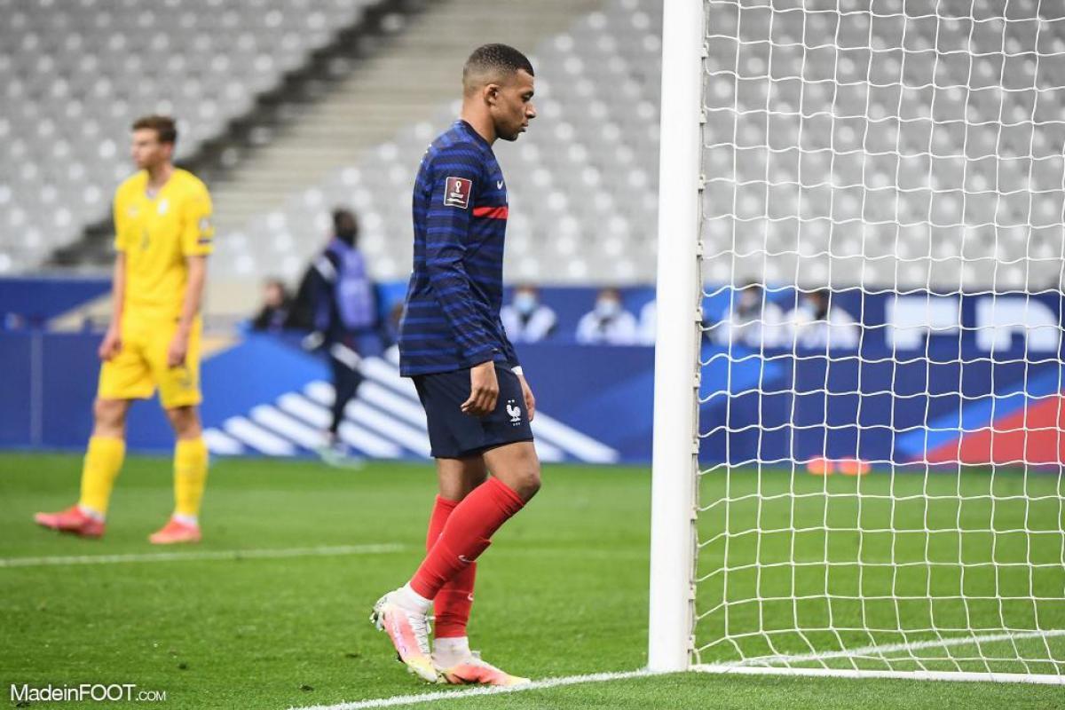 Kylian Mbappé, l'attaquant du PSG et de l'équipe de France.