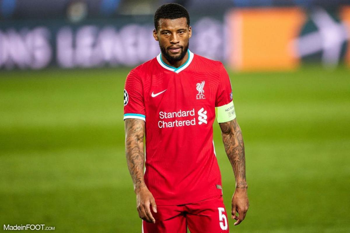 Wijnaldum avec Liverpool