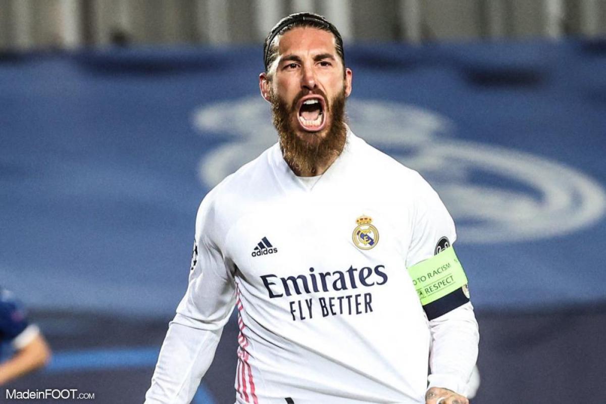 Ramos avec Madrid