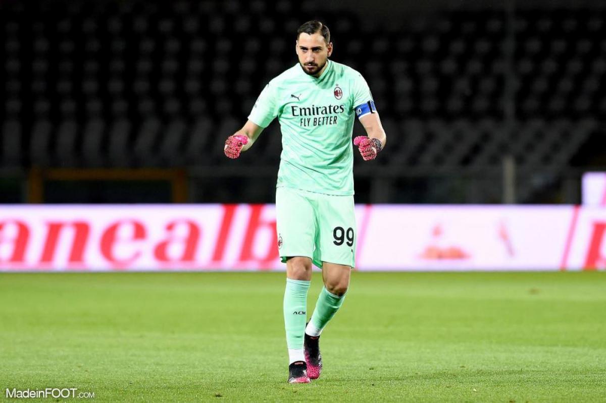 Gianluigi Donnarumma compte 251 matchs professionnels avec l'AC Milan