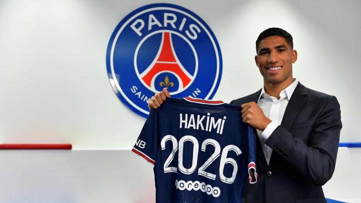 Le néo-parisien sera absent plusieurs jours.