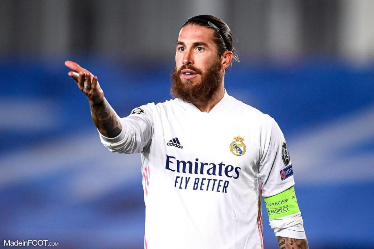 Ramos avec le Real Madrid