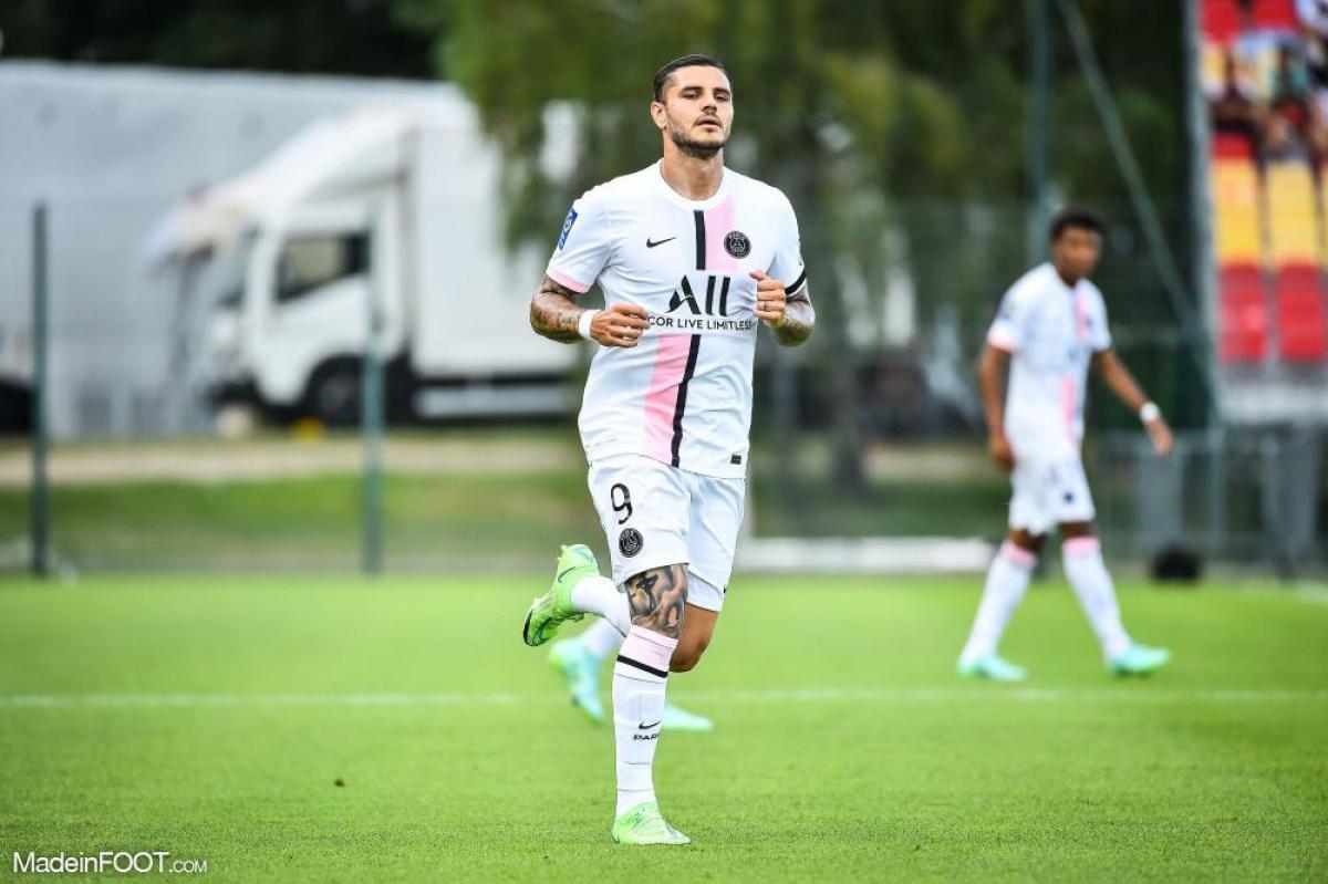 Mauro Icardi pourrait être de retour contre Clermont