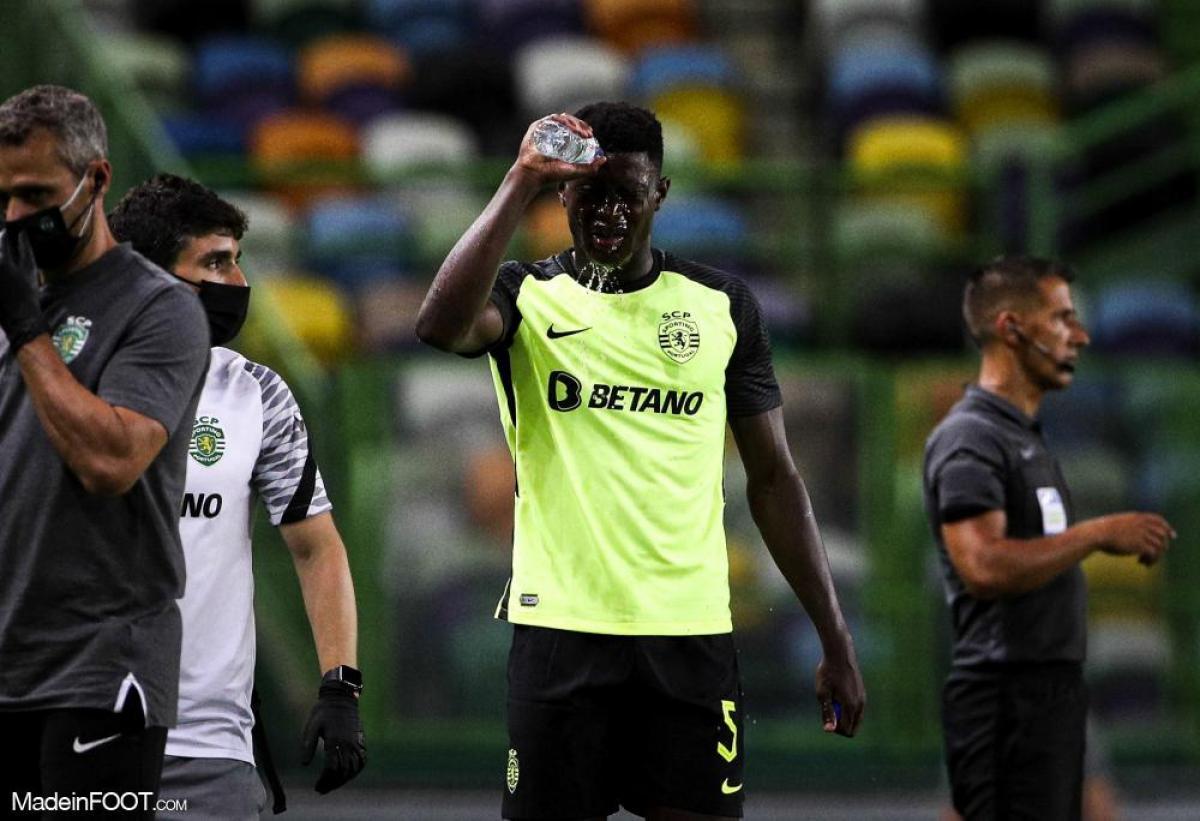 Nuno Mendes avec le Sporting Portugal