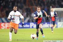 Siaka TIENE  / Lucas MOURA - 22.01.2014 - PSG / Montpellier  - Coupe de France 2013/2014