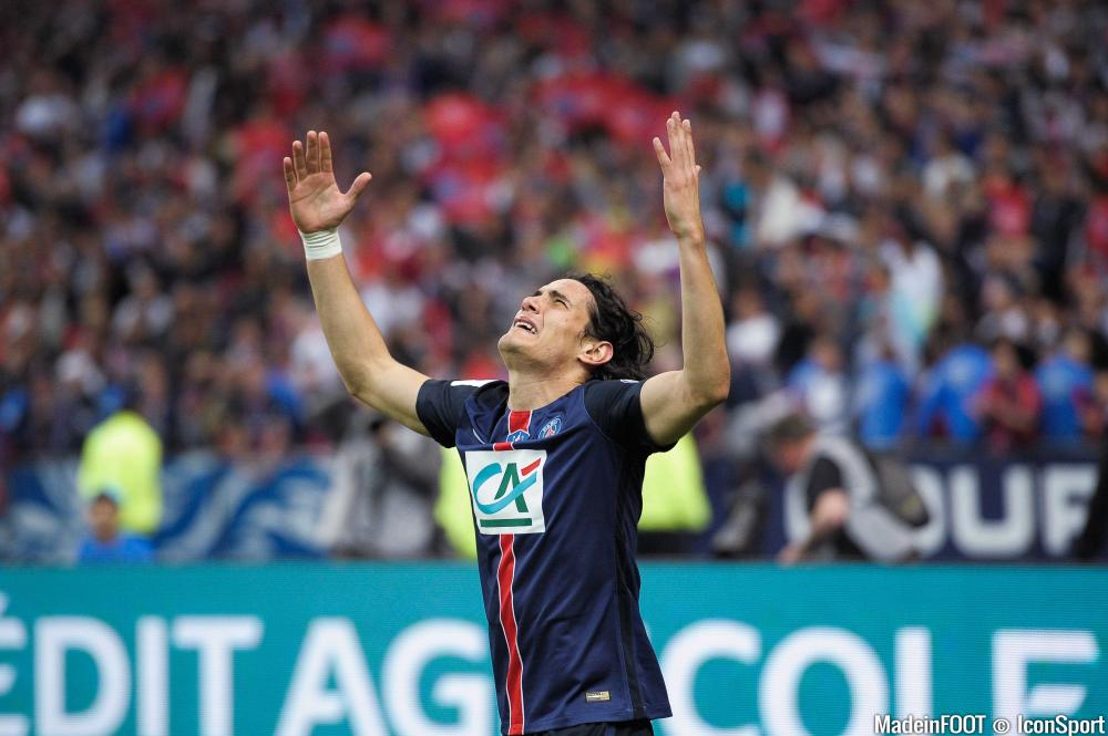 En deuxième partie de saison, Edinson Cavani a marqué 13 réalisations en 11 rencontres.