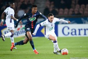 Presnel Kimpembe, la saison dernière face à Toulouse.