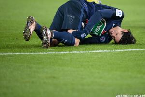 Edinson Cavani est sorti touché du match contre Bordeaux ce week-end.