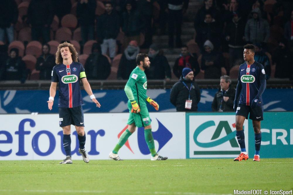 Daviz Luiz et le PSG sont en demi-finale de la Coupe de France.