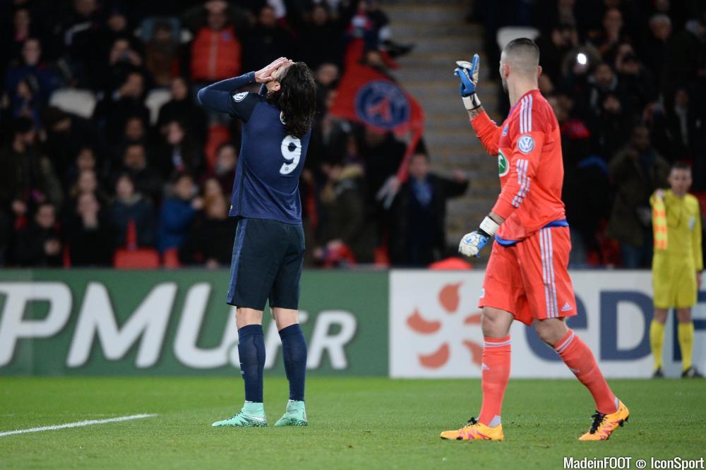 Cavani vit des moments difficiles avec le PSG.
