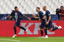 Neymar, Mauro Icardi, Mitchell Bakker (PSG)