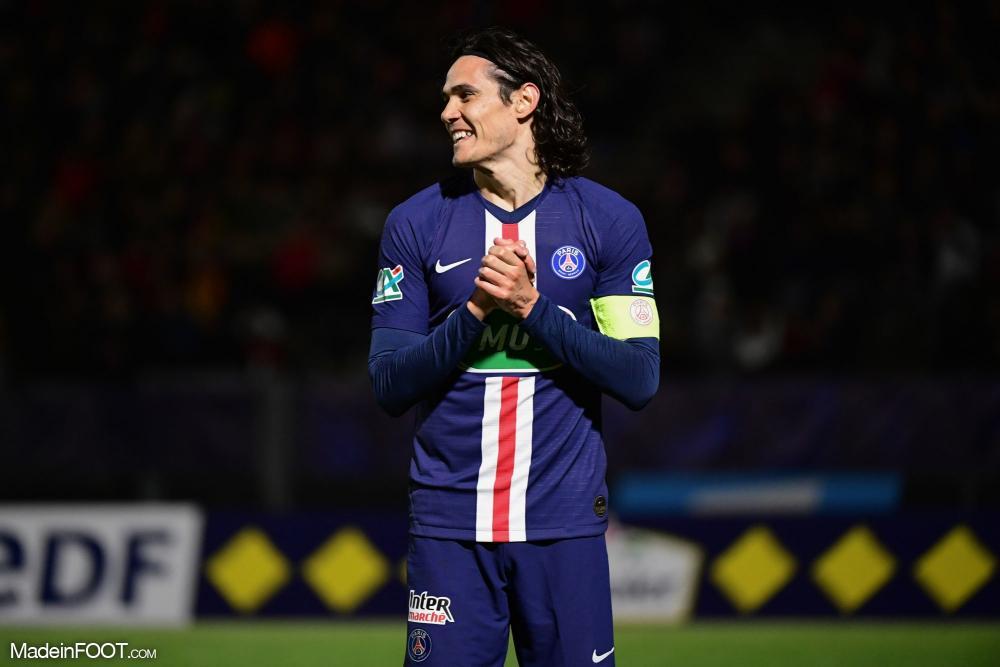 Cavani est dans le groupe parisien.