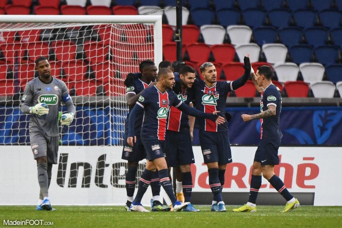 Le PSG a éliminé Lille en 8èmes