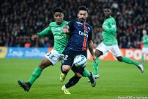 Ezequiel LAVEZZI / Ronael PIERRE GABRIEL - 16.12.2015 - PSG / Saint Etienne - Coupe de la Ligue - 1/8 de finale