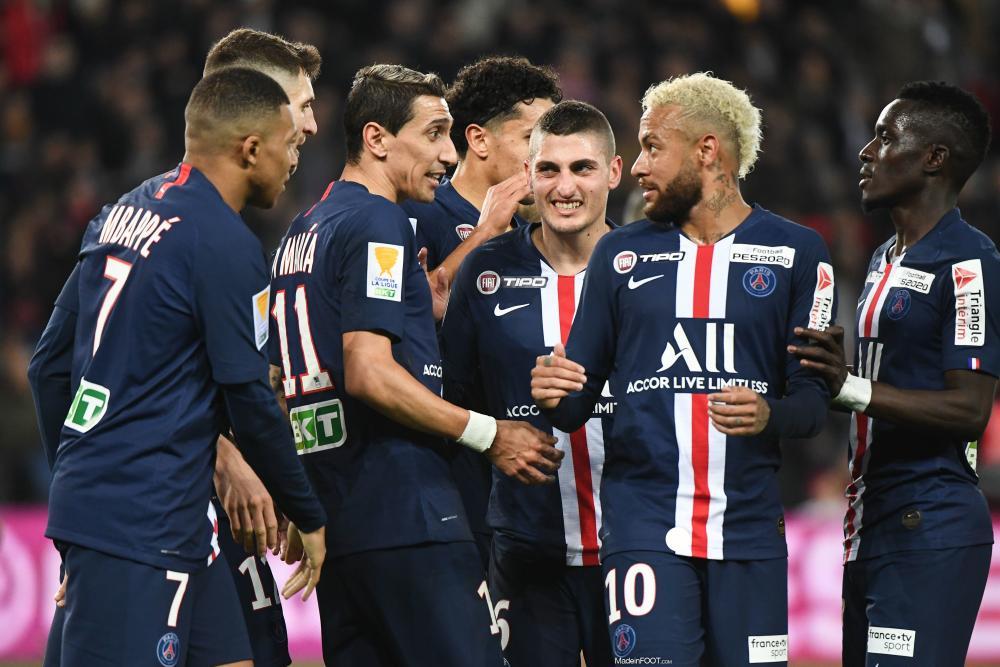 La réaction de Di Maria après la qualification du PSG face à Leipzig.