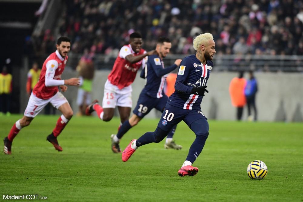 Le PSG domine Reims