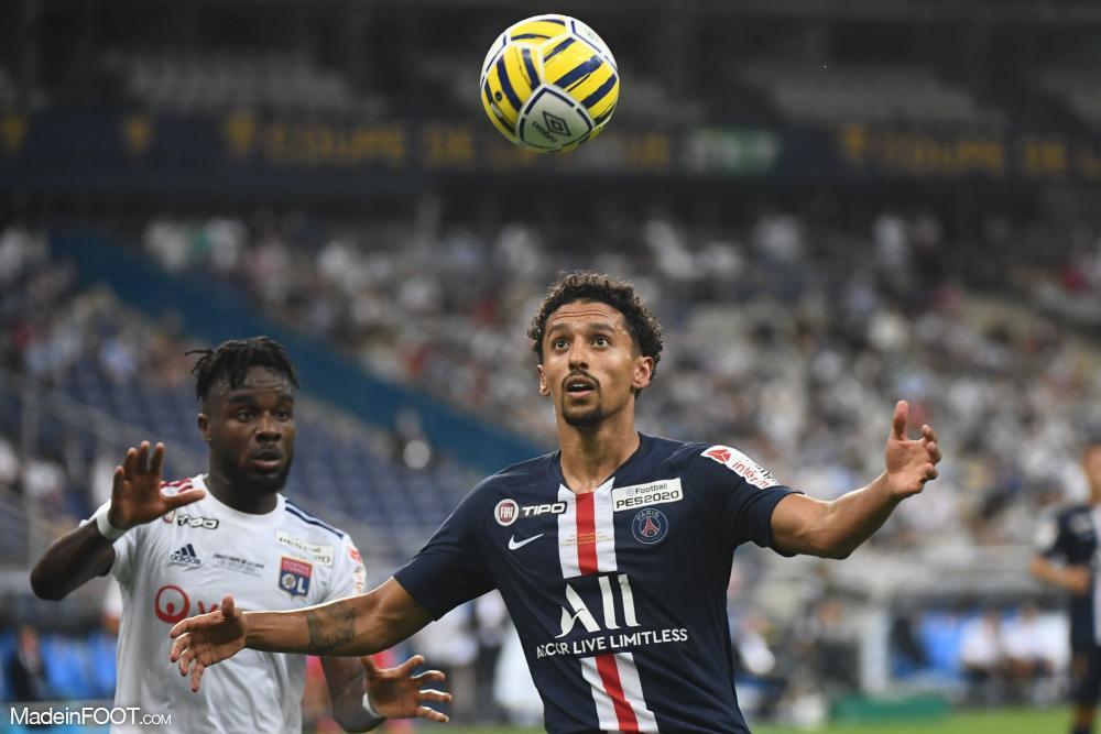 A l'image de Marquinhos, plusieurs joueurs parisiens ont été touchés lors de la finale de la Coupe de la Ligue