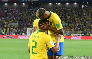 Les compos officielles du match entre le Brésil et la Belgique.