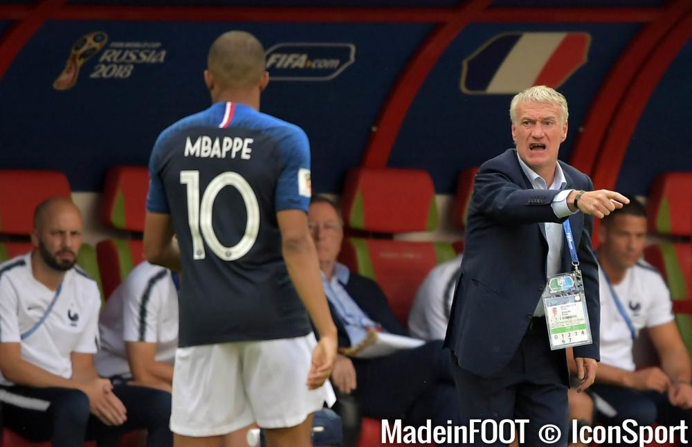 Deschamps va recadrer Mbappé