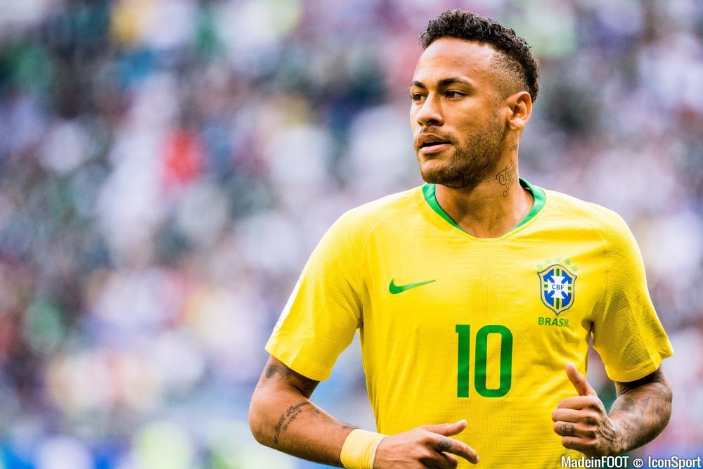 Neymar a inscrit son 2e but dans la Coupe du Monde.
