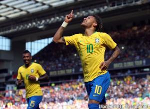 Neymar et le Brésil défient le Mexique pour une place en quart.